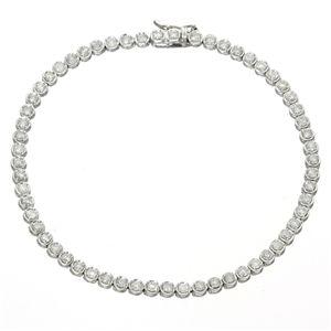 K18WG2ctダイヤモンドテニスブレス