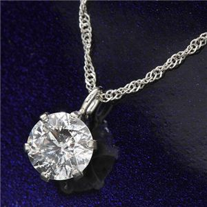 プラチナ(PT900) 0.4ct ダイヤモンドペンダントのデザイン