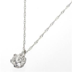 プラチナ(PT1000) 0.3ct ダイヤモンドペンダントのデザイン