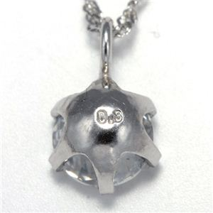 純プラチナ 0.3ctダイヤペンダント 247312