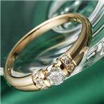 【訳あり・在庫処分】K18PG/0.28ctダイヤリング 指輪 9号の詳細ページへ