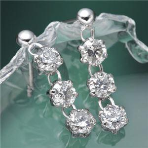 0.6ctダイヤモンドピアス