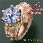 amelie mon chouchou Priere K18PG 誕生石ベビーリングネックレス (12月)タンザナイトの詳細ページへ