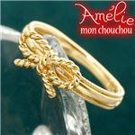 Amelie Monchouchou【リボンシリーズ】リング 7号 指輪