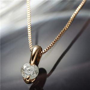K10PGダイヤペンダント