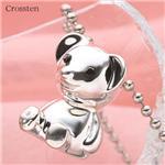 クロステン(Crossten)ブランド!クリスマスベアネックレス
