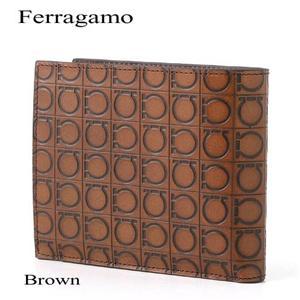 Ferragamo 財布 663555 ブラウン