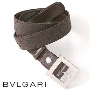 Bvlgari(ブルガリ)ロゴマニアキャンバスベルト 22791
