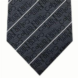 Calvin Klein (カルバンクライン) ネクタイ N-CKL-A00057 Black系
