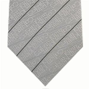 Calvin Klein (カルバンクライン) ネクタイ N-CKL-A00058 Gray系