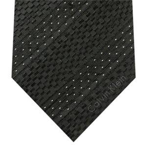 Calvin Klein (カルバンクライン) ネクタイ N-CKL-A00110 Black系