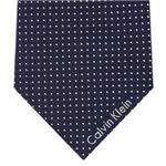 Calvin Klein (カルバンクライン) ネクタイ N-CKL-A00125 Blue系
