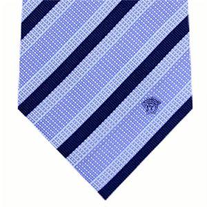 VERSACE (ヴェルサーチ) ネクタイ N-VER-A00251 Blue系