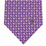 VERSACE (ヴェルサーチ) ネクタイ N-VER-A00283 Purple系