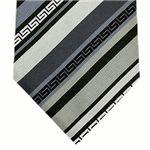 VERSACE (ヴェルサーチ) ネクタイ N-VER-A00293 Gray系