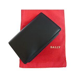BALLY(バリー) 4面カード入れ SISOLT BLACK