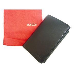 BALLY(バリー) 三つ折サイフ STRUTI BLACK