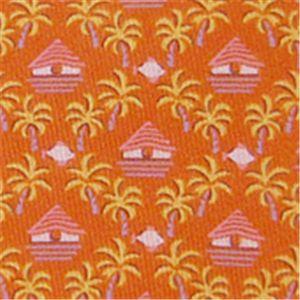 Ferragamo(フェラガモ) ネクタイ Orangeモチーフ N-FER-A00669