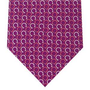 Ferragamo(フェラガモ) ネクタイ Purpleロゴ N-FER-A00677