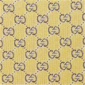 GUCCI(グッチ) ネクタイ Yellowシルク(JA) N-GUC-A01437