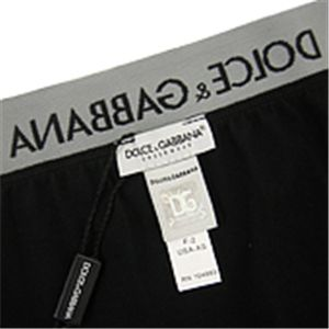 03DOLCE&GABBANA/メンズアンダーウェア 0034 ブラック Sサイズ/MU-DOL-A0063