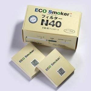 電子タバコ ECO Smoker(エコスモーカー)交換用フィルター ノーマル味 40個入