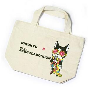 限定【ハローキティーのデザイナー清水氏とのコラボモデル】Dog Brand299 x メンズレベッカボンボン EcoBag