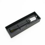 【無料ラッピング付き】BVLGARI(ブルガリ) 28380 MILLE RIGH Phone Strap (ミレリゲ 携帯ストラップ)黒