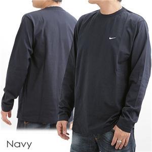 NIKE ロングスリーブTシャツ 115470 ネイビー M