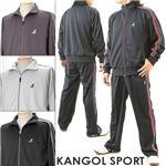 KANGOL SPORT ジャージスーツ ポケット×2 13101 ネイビー M