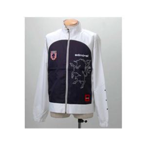 Admiral ウォームアップジャケット 16012 ホワイト M