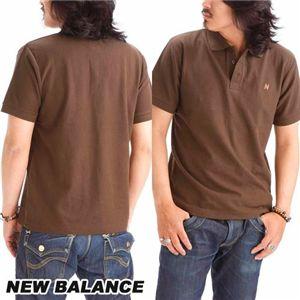 NEW BALANCE(ニューバランス) 無地ポロシャツ AMTZ6488 ALMI 3L(日本サイズ4L)