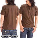 NEW BALANCE(ニューバランス) 無地ポロシャツ AMTZ6488 ALMI S(日本サイズM)