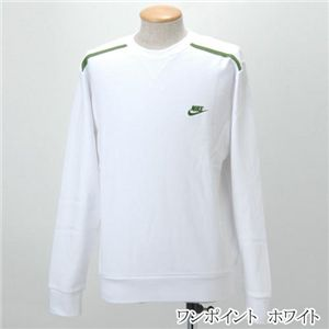 NIKE(ナイキ) 裏毛トレーナー ワンポイント/206927  ホワイト Lサイズ