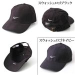 NIKE(ナイキ) ロゴCAP 592726/(スウォッシュロゴ)ネイビー