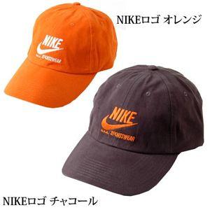 NIKE(ナイキ) ロゴCAP 144530/(NIKEロゴ)オレンジ