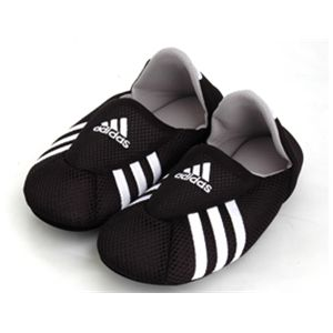 adidas(アディダス) ロッカールームソックス <br>(ブラック×ホワイト27-29cm)