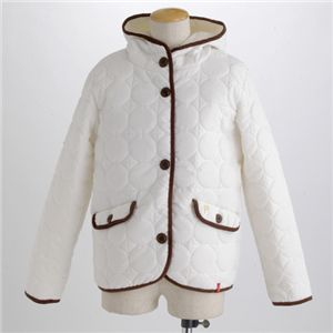 PRO-Keds 中綿サーモライトサークル柄キルトジャケット ホワイト L の詳細をみる