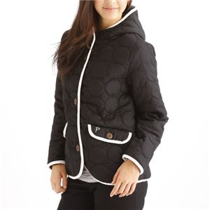 PRO-Keds 中綿サーモライトサークル柄キルトジャケット ブラック L の詳細をみる