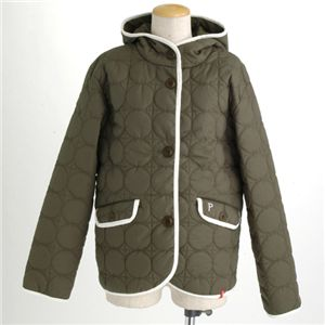 PRO-Keds 中綿サーモライトサークル柄キルトジャケット オリーブ M の詳細をみる