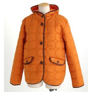PRO-Keds 中綿サーモライトサークル柄キルトジャケット オレンジ L の詳細をみる