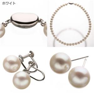 和珠本真珠8.5〜9mm本真珠(超大珠)ネックレス&イヤリング