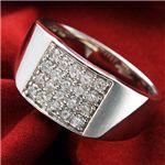 ダイヤモンド合計0.5ctパヴェリング FMR-TM00048 16号