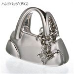 BLSR(ビーエルエスアール) hiroo tokyo K18WG ハンドバッグペンダントトップ H00002P18WD/RD/ハンドバッグ(WG)