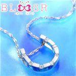 BLSR ebisu tokyo <strong>K18WGダイヤステーション ホースシューペンダント</strong>