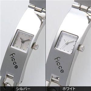 ficce(フィッチェ) チェーンブレスウォッチ FC-11017-01 white