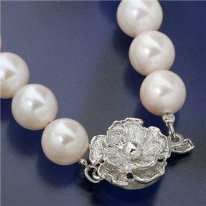 大珠8〜8.5mm珠 あこや真珠 パールネックレス&パールイヤリングセット 鑑別付のネックレス