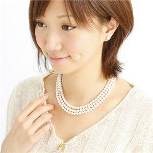 あこや本真珠 ネックレス&イヤリング4点セット
