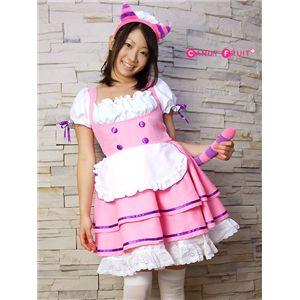 ピンクキャットメイド服