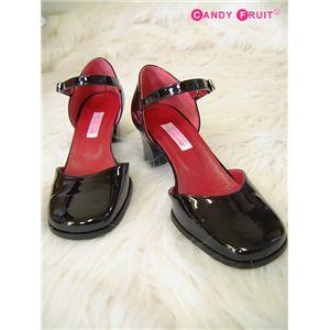 メイドさんの靴(エナメルタイプ) 22.5cm